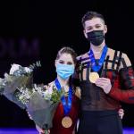 Фигуристы Мишина и Галлямов стали чемпионами мира по фигурному катанию