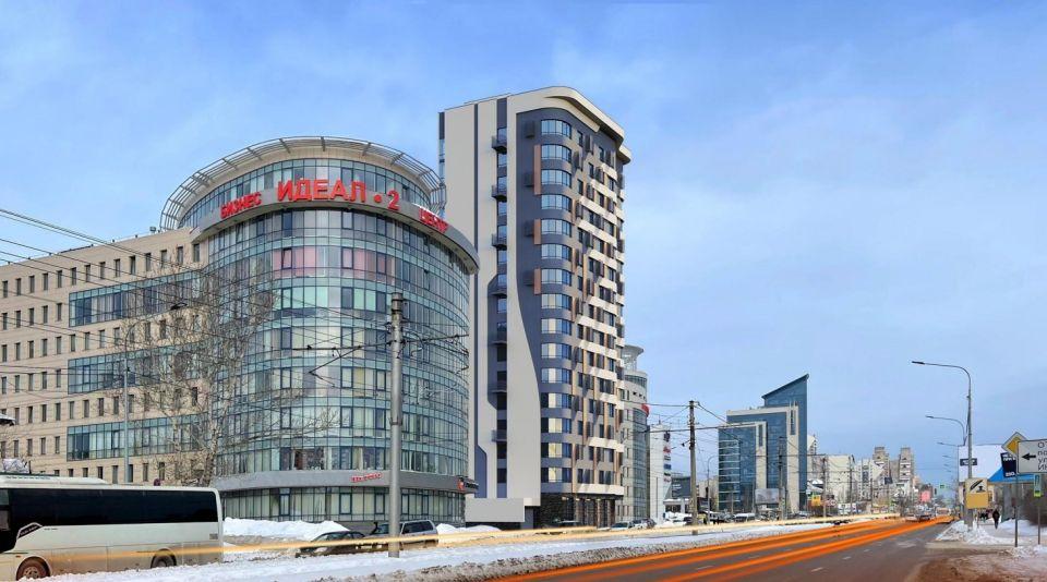 Эскиз дома на ул. Пролетарской, 125