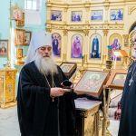 Барнаульскому храму передали частицу мощей князя Александра Невского