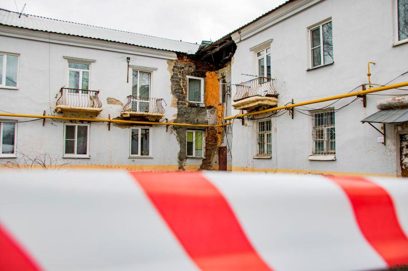 Аварийный дом Фото:Виталия Барабаш