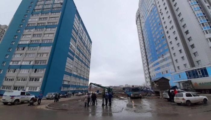 Жильцы двух домов Барнаула взбунтовались против новой высотки во дворе