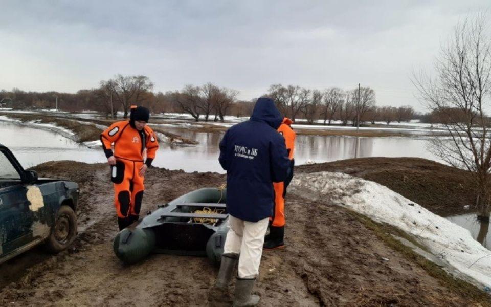 Алтайские власти ввели режим повышенной готовности из-за разлива талых вод