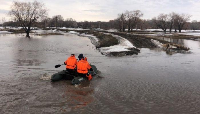 Еще две трассы перекрыли в Алтайском крае из-за подтопления