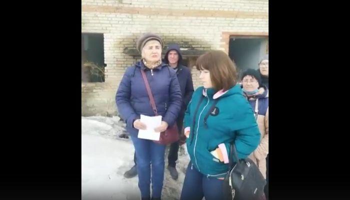 Жильцы аварийного дома в Алтайском крае обратились к Путину