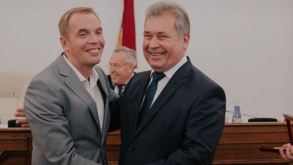 Александр Молотов (слева) и Александр Романенко