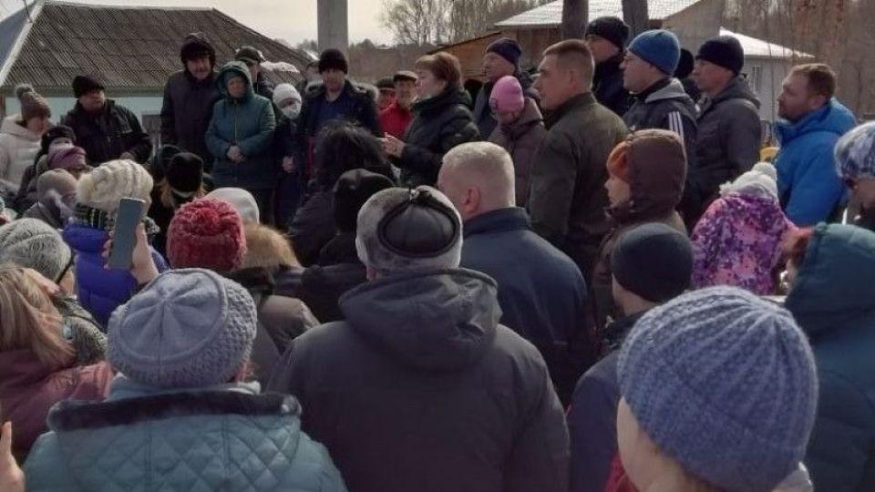 Собрание в микрорайоне Западный в Барнауле