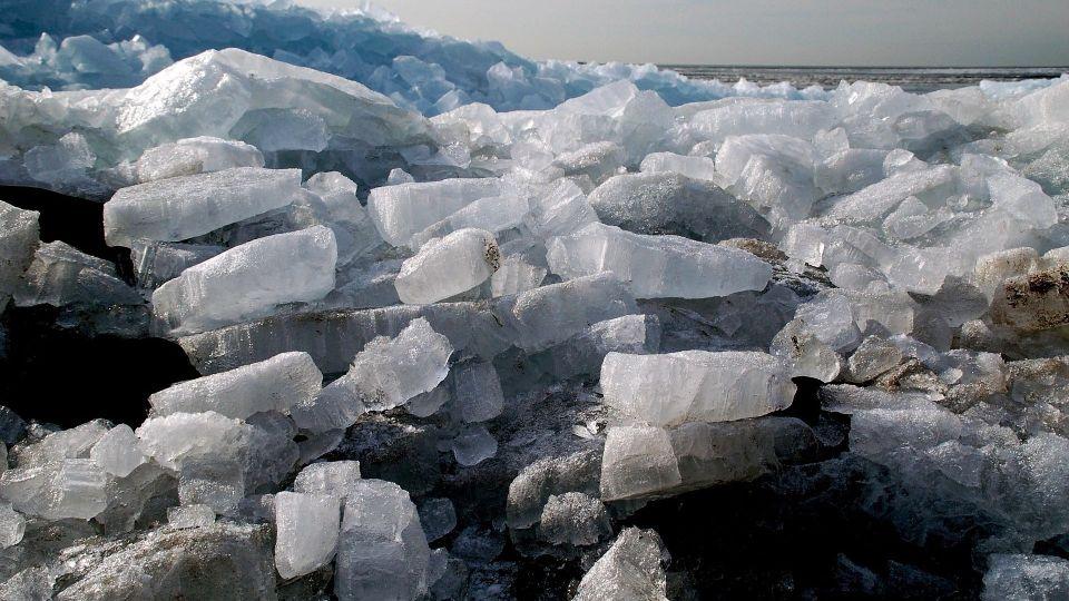 Лёд. Ледоход
