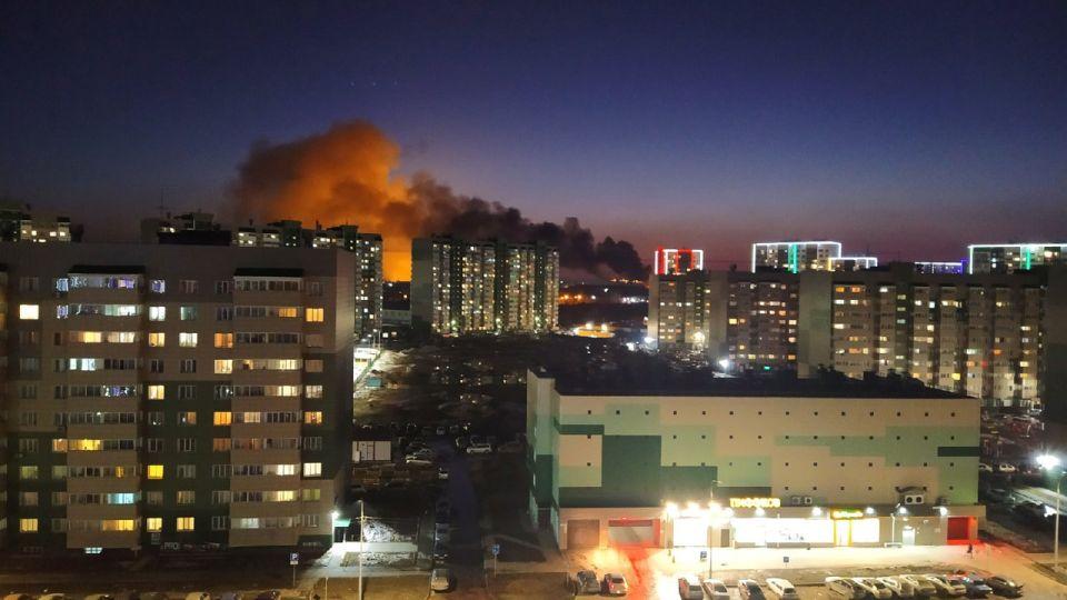 Пожар на Власихинской