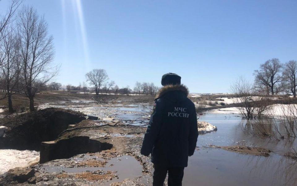 ЦУР: 13 жилых домов оказались подтоплены в Алтайском крае