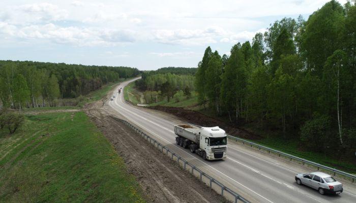 Чуйский тракт в Алтайском крае расширят на двух участках