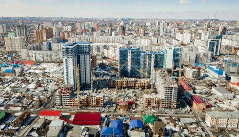 Парк, террасы и скалодром. В сити-квартале Барнаула создают новый образ жизни