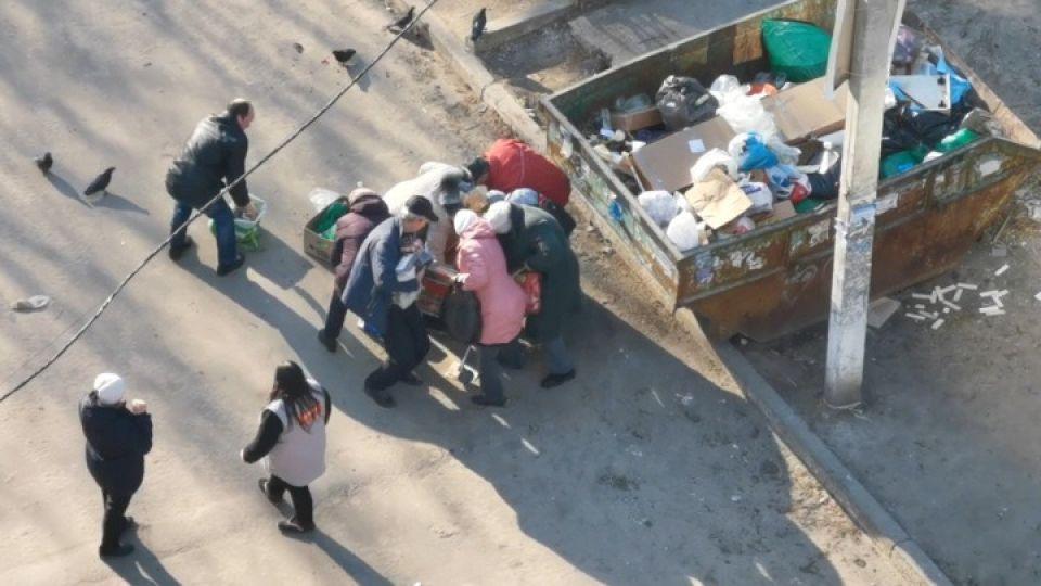 Конфликт у мусорки