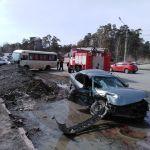 Пострадали двое: в ГИБДД назвали подробности жесткой аварии на Горе