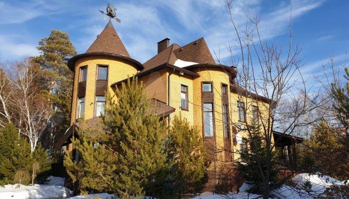 Коттедж с лежанкой на печи продают в пригороде Барнауле за 75 млн рублей