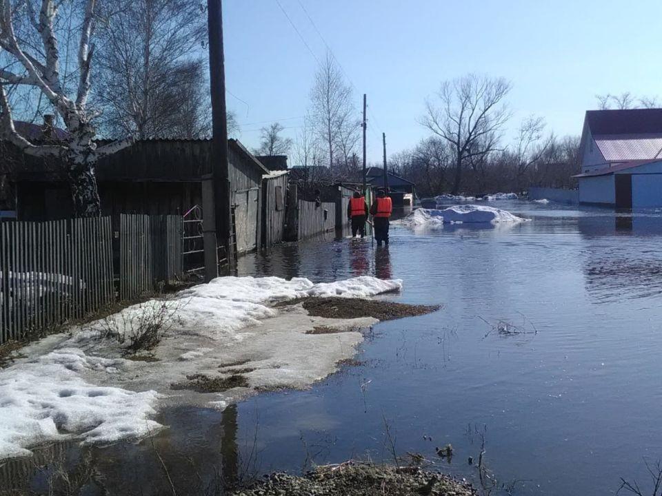 В Алтайском крае продолжается первая волна паводка