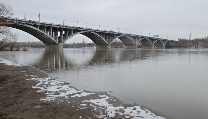 Уровень воды в реке Бия за сутки поднялся почти на метр