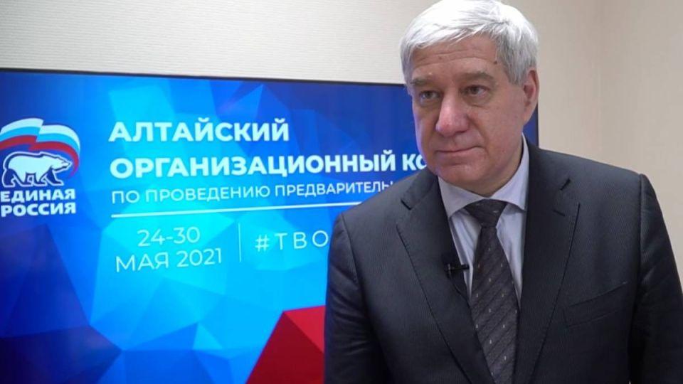 Игорь Вихлянов, главврач Алтайского краевого онкодиспансера