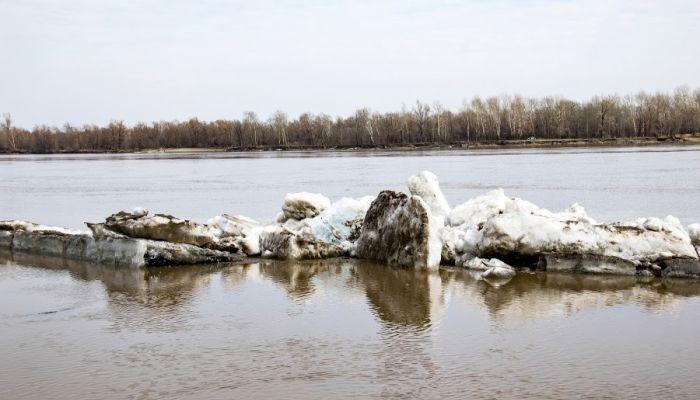 Первые пошли: в Барнауле начался ледоход на Оби
