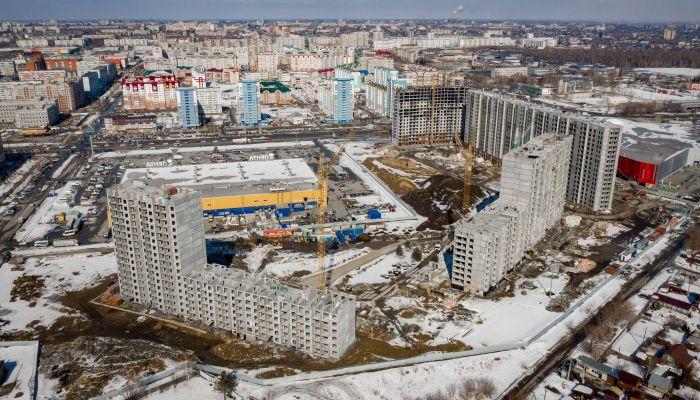 Живи там, где хорошо. В Барнауле строят крутые квартиры и роскошный парк