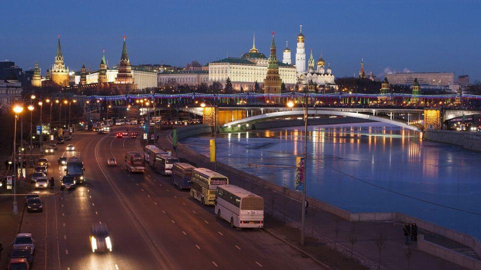 Москва. Кремль. Россия