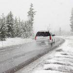 Сильный снегопад прошел в Алтайском крае днем 17 апреля