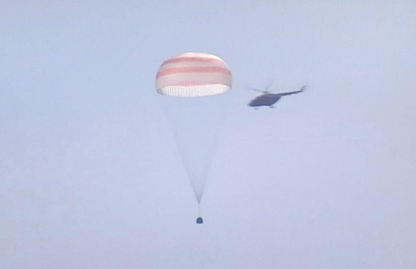 спускаемый аппарат Фото:twitter.com/Rogozin