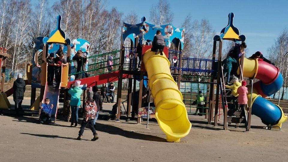 детская площадка в Рубцовске