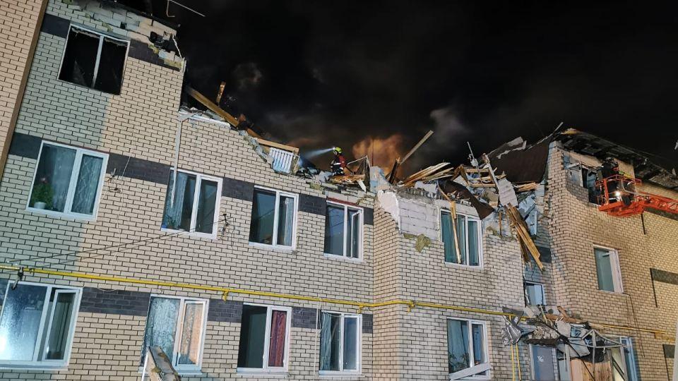Пожар в Нижегородской области