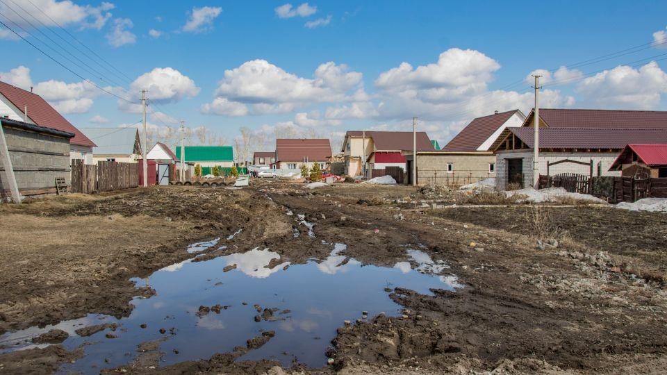 Частные дома в коттеджном поселке