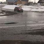 Барнаульские автомобилисты теряют колеса на капитально отремонтированной дороге