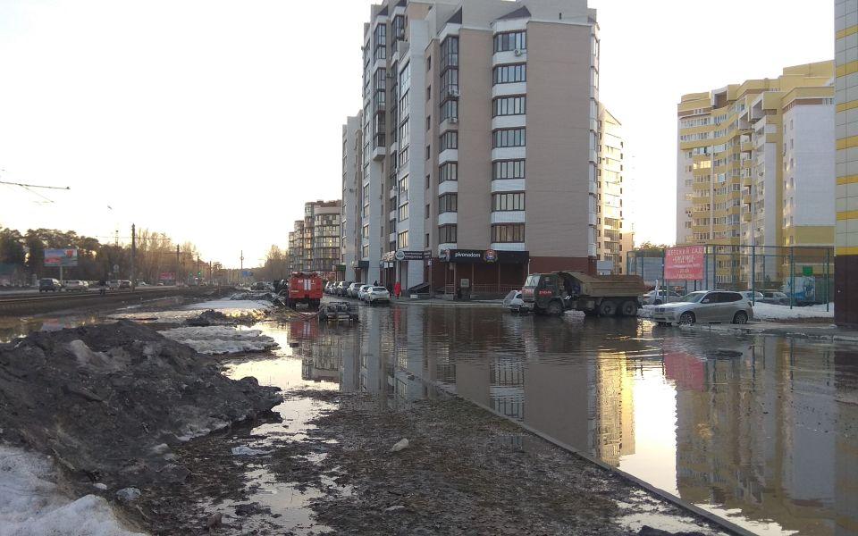 Барнаульская впадина. Огромную лужу в элитном районе ликвидируют до 2040 года