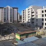 С проблемной стройки ЖК Парковый в Барнауле возобновили видеотрансляцию