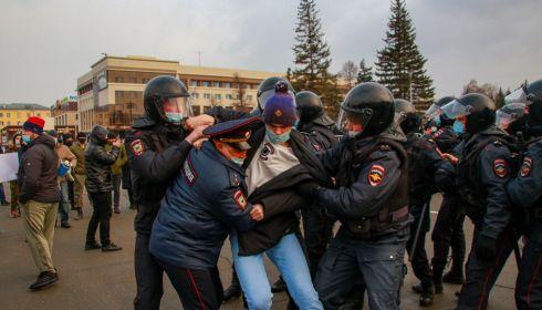 РИА Новости: шесть детей задержали на незаконной акции в Барнауле