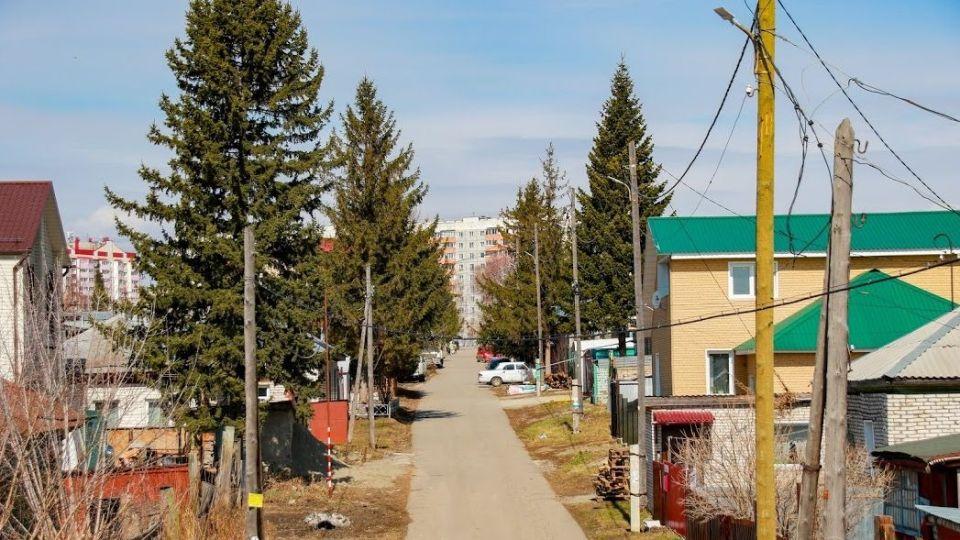 Микрорайон Западный в Барнауле