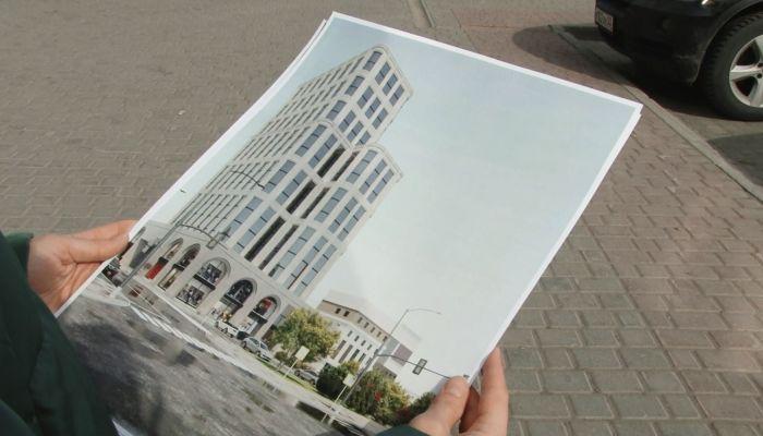 Новый облик ЦУМа в Барнауле: барнаульцам показали проект 18-этажного здания