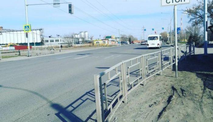 Светофор с сенсорным управлением установили в Барнауле