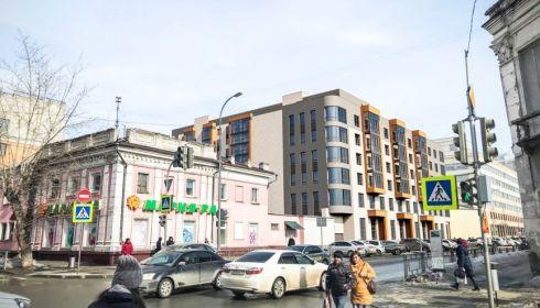 Рядовая пятиэтажечка. За что критиковали проект дома около мэрии Барнаула