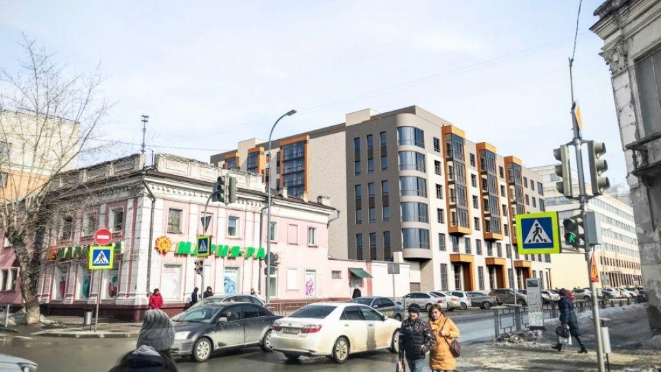 Эскизный проект дома на ул. Гоголя, 52