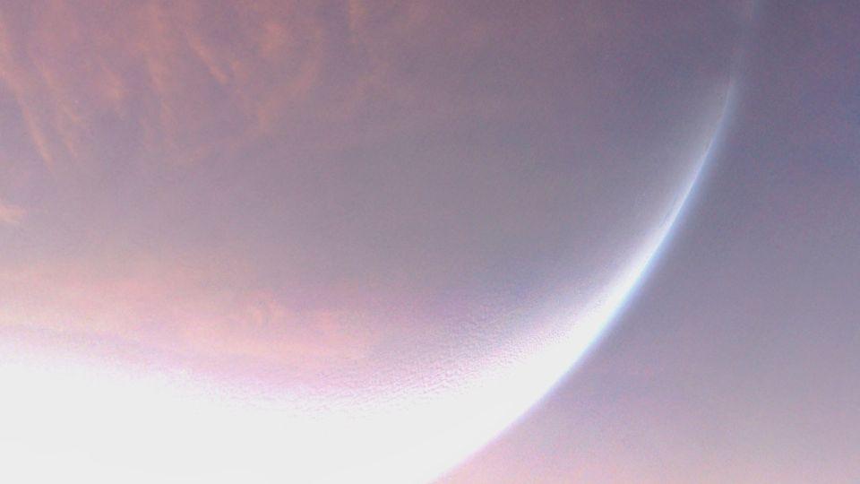 Луна. Свет. Розовый