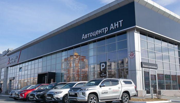 Дилерский центр Автоцентр АНТ Mitsubishi продемонстрировал новый формат работы