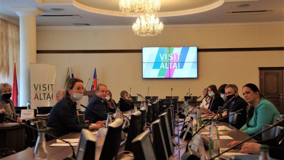Международный туристском форуме VISIT ALTAI