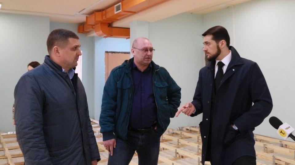 Вячеслав Перерядов, Игорь Гребельный и Александр Прокопьев
