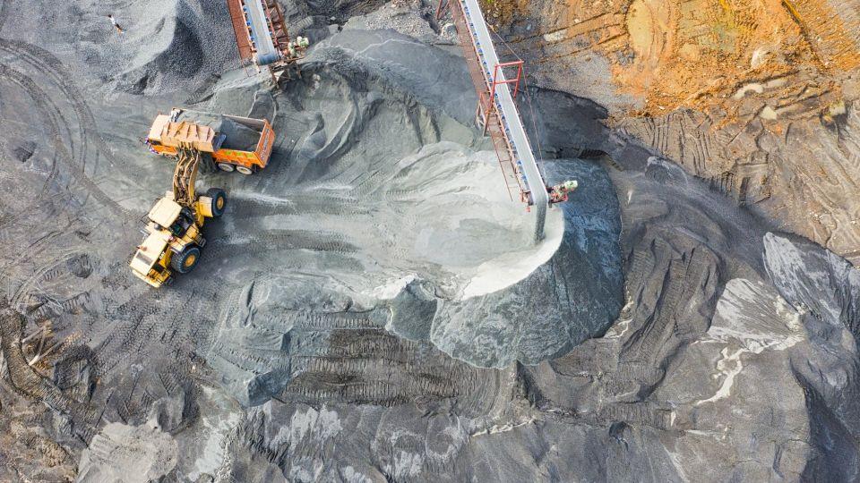 Добыча. Полезные ископаемые. Фото иллюстративное