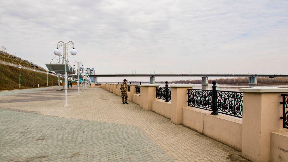 Погода. Набережная Барнаула
