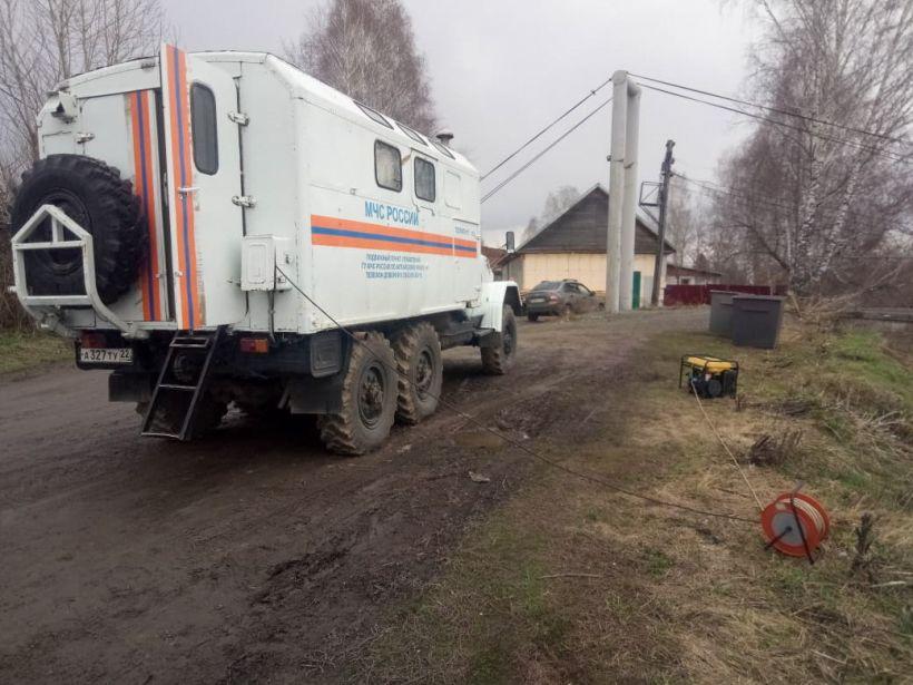 Паводок Фото:ГУ МЧС РФ по Алтайскому краю