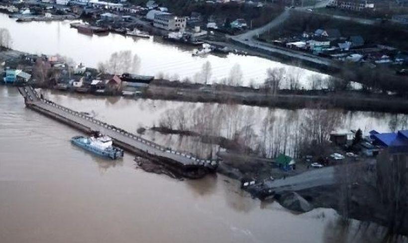 Понтонный мост Фото:instagram.com/biysk.22