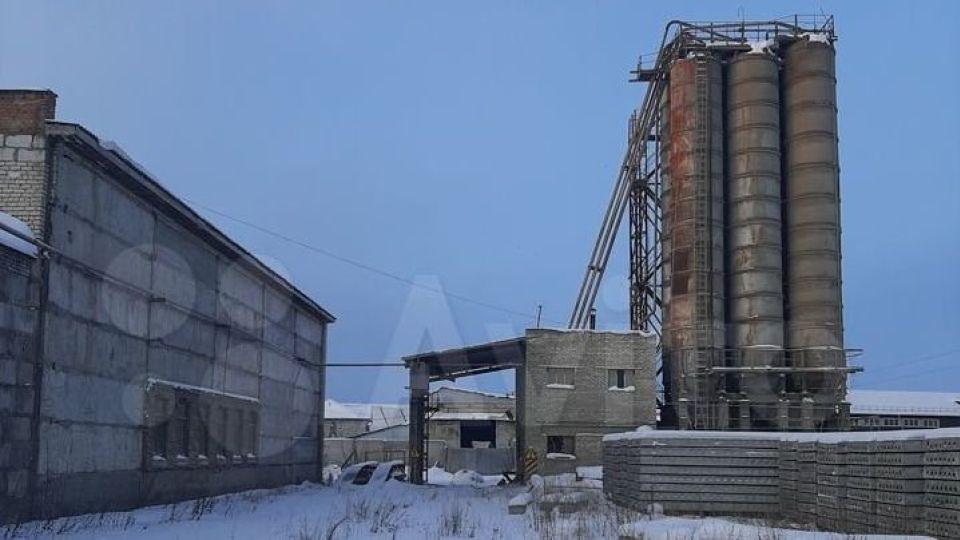 Завод ЖБИ.