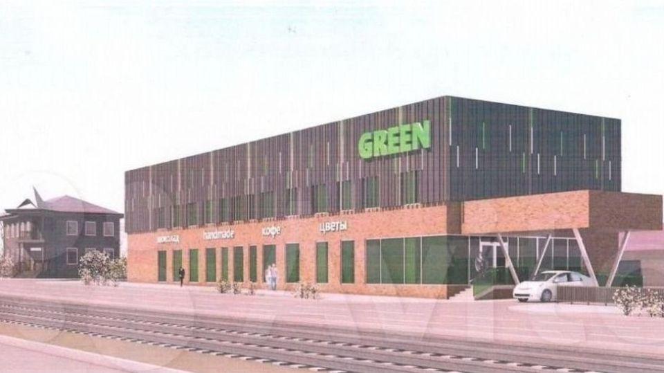 Рендер нового ТЦ Green.