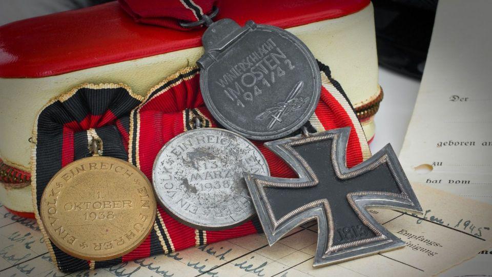 Немецкие медали.