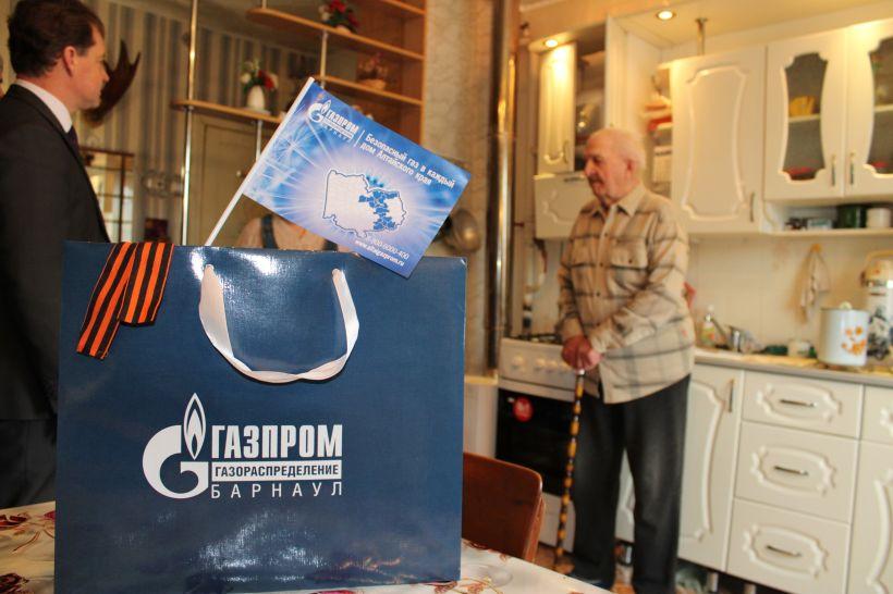 """Долг каждого - помнить о ветеранах Фото:""""Газпром газораспределение Барнаул"""""""
